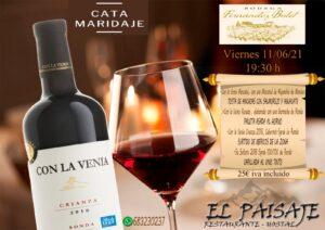 cata de vinos en El Paisaje